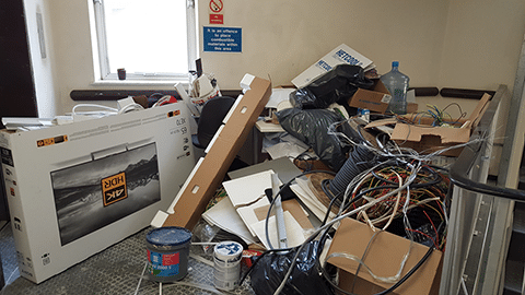 commercial rubbish clearance birmingham before