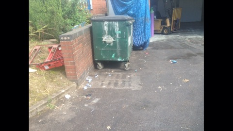 commercial rubbish removal clearance birmingham after