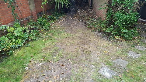 garden clearance rubbish removal bromsgrove after
