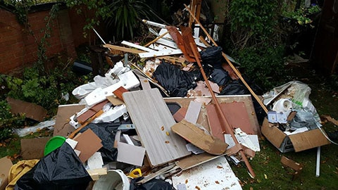 garden clearance rubbish removal bromsgrove before